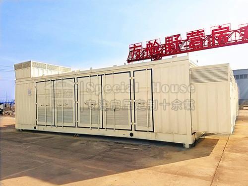发电机组集装箱房